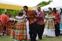 VIRGIN ISLANDS US: he We Deh Yah Cultural Dancers performed to quelbe renditions of Christmas songs at the Dec. 8 mini-festival.