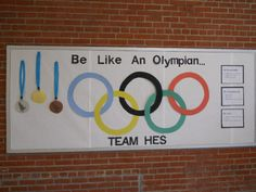 Be Like An Olympian-Rules to Follow; Love the idea of students 'signing' the board with their thumbprint to say they will abide by the rules