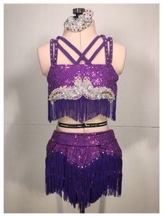 """A cute little custom jazz costume, """"There'll Be Some Change Made"""" Loving the fringe! Dance Costumes Lyrical, Girls Dance Costumes, Jazz Costumes, Belly Dance Costumes, Dance Leotards, Dance Outfits, Majorette Uniforms, Salsa Dress, Dance It Out"""
