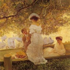 The Boating Party by Gaston de Latouche