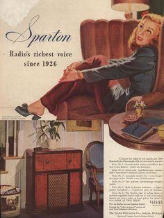 Sparton:  Radio's riches voice since 1926      1946
