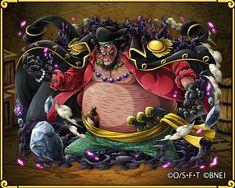 Blackbeard – Former Warlord of the Sea Blackbeard One Piece, Akuma No Mi, One Piece Tattoos, One Piece Chapter, 3 Characters, Character Base, Monkey D Luffy, One Piece Manga, Cruise