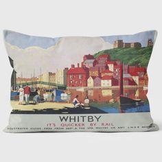 Whitby - National Railway Museum Cushion