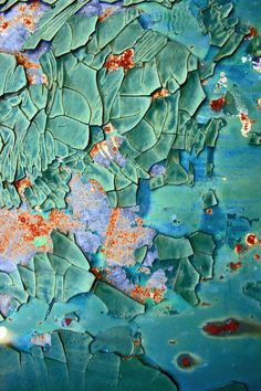 Inspiration indeed - this is fabulous, the colours, the texture, the shapes - it is soo visually pleasing: