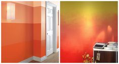 How to Paint an Ombre Accent Wall
