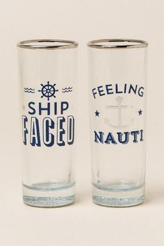 Feeling Nauti Shot Glass Set