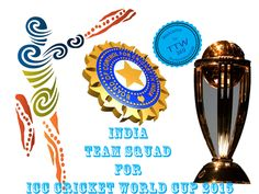 #TeamIndia Squad For #ICC Cricket #WorldCup2015 | Players List  Hi guys! Welcome to #TheTechWorld369. Today i am going to list out 15 players squad of #India for ICC Cricket #WorldCup2015updates