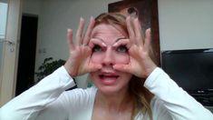 Cvik proti ovisnutým vrchným viečkam Facial Yoga, Fitness, Makeup, Face, Youtube, People, Beauty, Diet, Beleza