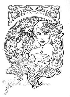 Fleur by slightlymadart.deviantart.com on @DeviantArt