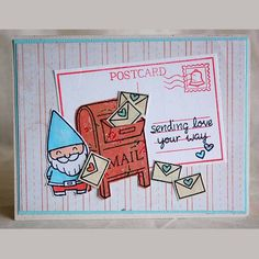 you've got mail | Lawn Fawn