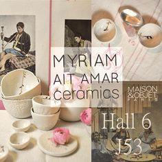 Myriam Ait Amar Ceramics Photo : Marie Roura