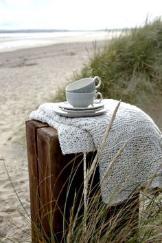 Tea by the sea. Tea party with Grammie in the sand! Coastal Living, Coastal Decor, Coastal Cottage, Coastal Curtains, Maine Cottage, Coastal Furniture, Coastal Farmhouse, Coastal Style, House By The Sea