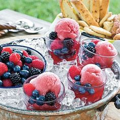 This G.R.I.T.S. Tale: Blackberry Wine Sorbet