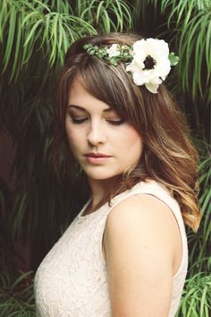 How to Wear a Flower Crown -- Even If You're Shy