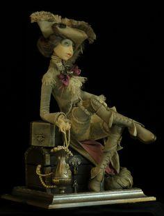 Tamara Pivnyuk Art Dolls / Dolls / Пиратка