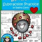 $ - Spider Subtraction Practice with using addition to solve a subtraction problem and making a ten to subtract.  Enjoy! Regina Davis aka Queen Chaos at Fairy Tales And Fiction By 2.