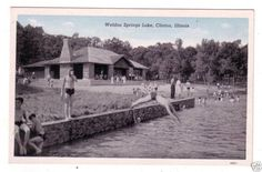 Swimming Weldon Springs 40's in Clinton