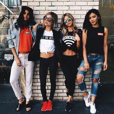 Squad goals. #girlpower #fitbabes #kristasantiago