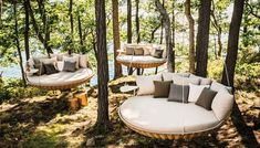 Each piece of Dedon outdoor furniture is an unique example of great craftmanship. Alaire is proud to offer Dedon as it allows creating outdoor living rooms furnished with the same attention to looks and luxurious comfort as those inside the home. Outdoor Lounge, Outdoor Beds, Outdoor Spaces, Outdoor Living, Outdoor Furniture, Outdoor Decor, Outdoor Seating, Wicker Furniture, Outdoor Swings