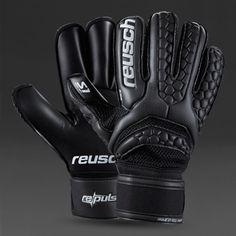 Reusch Re:Pulse Prime S1 RF GK Gloves - Black/Black