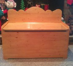 Custom Wooden Toy Box/Hope Chest by SassyFrassStudio on Etsy, $600.00