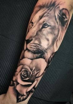 Lion Sleeve Tattoo
