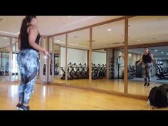 Super model Ashley Graham Workout - YouTube