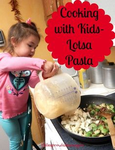 Do you cook with your kids? It's fun and easy with this yummy recipe!