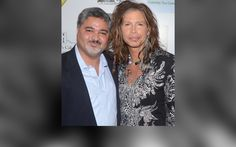Amyn the Jeweler - Harmony by Amyn with Steven Tyler (Seen here wearing the double cross silver necklace)