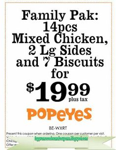 Popeyes Chicken Coupons Ends of Coupon Promo Codes MAY 2020 ! Do not settle when you crave fried chicken. Kfc Printable Coupons, Kfc Coupons, Best Buy Coupons, Pizza Coupons, Grocery Coupons, Print Coupons, Free Printables, Jcpenney Coupons, Boston Market