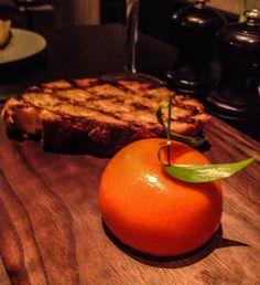 Heston dinner fruit meat