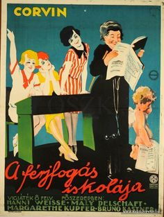 Retro Posters, Movie Posters, Advertising Poster, Vintage Advertisements, Hungary, Budapest, Europe, Entertainment, Paintings
