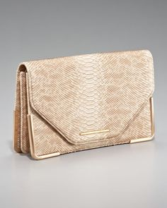 Charlotte Envelope Clutch by Rachel Zoe at Neiman Marcus.