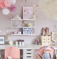 girls study corner