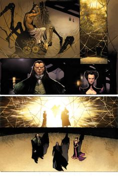 AMAZING SPIDER-MAN #9 PREVIEW 2//Olivier Coipel/C/ Comic Art Community GALLERY OF COMIC ART