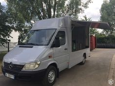 Camion magasin Food truck pizza snack MB Sprinter 2001