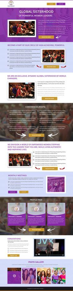 Global Sisterhood of Powerful Women Leaders on Behance