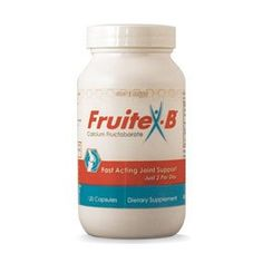 FruiteXB Joint Support 120 Capsule 2 Month Supply Calcium Fructoborate Supplement * More info could be found at the image url. (This is an affiliate link and I receive a commission for the sales)