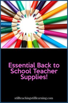 While I usually stock up on my favorite essential teacher supplies right about now, I'm also looking at supplies I may need for remote teaching as well.