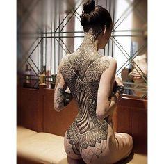 photo tattoo feminin dos complet et fesses tres reussi, Click web site other content Tattoo Girls, Back Tattoo Women, Girl Tattoos, Tattoos For Women, Tattooed Women, Sexy Tattoos, Back Tattoos, Body Art Tattoos, Ta Moko Tattoo