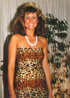 Actually Halloween 1990 or 91, but the big hair look is a classic 80's style.