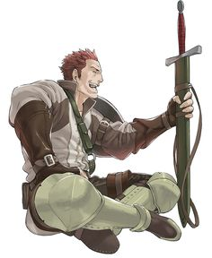 Fire Emblem: Awakening - Gregor - this is the man i married the story line was pretty good he's decently strong and ... i like his accent