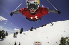 Bobby Brown straps on a GoPro and takes it for a wild ride down the gnarly Red Bull Megaslope.