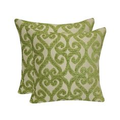Jacquard Iron Gate Throw Pillow with Suede Back - Lime ($29) ❤ liked on Polyvore featuring home, home decor, throw pillows, green, lime green throw pillows, green throw pillows, lime green accent pillows, green toss pillows and lime green toss pillows
