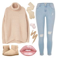 I`m Glad we Commenced... by sweet-jolly-looks on Polyvore featuring polyvore, fashion, style, MANGO, River Island, UGG, Lime Crime, Urban Decay, clothing, cute, casual, love and simple
