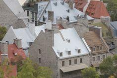 Les toits du Vieux-Québec // Old Québec rooftops #quebecregion