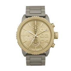 DIESEL Round Chronograph Bracelet Watch Diesel. $148.99. Model: DZ5303. Band color: sand. Condition:brand new with tags. Dial color: light gold-tone dial. Brand:Diesel. Save 34% Off!