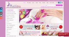 Realizzazione Sito Web per la vendita di prodotti per la ricostruzione delle unghie. www.tuttoperleunghie.it