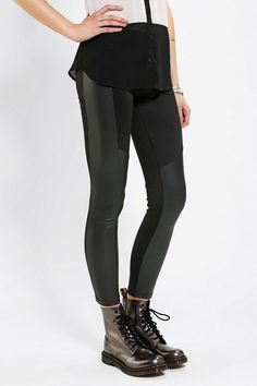 Kill City Coated-Panel Legging #urbanoutfitters