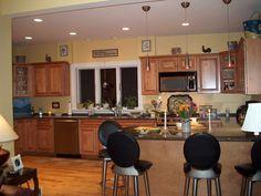 Best Decoration Comfortable Kitchen Interior